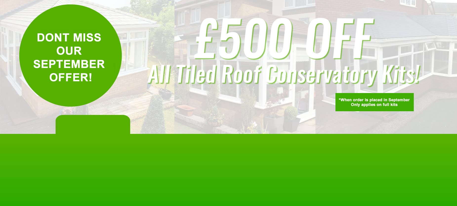 tiled roof conservatories home banner