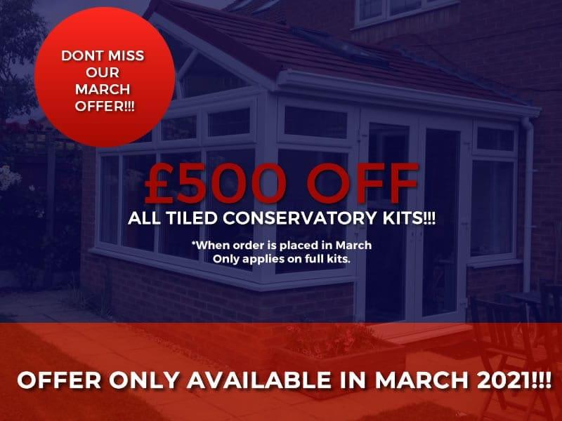 tiled conservatories mobile offer banner march 2021